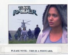 Postcard - Lara Croft Tomb Raider, Helicopter (UIP002) - New Unused - Cartoline
