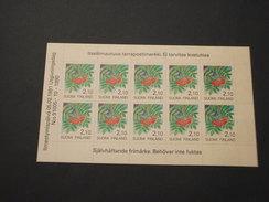 FINLANDIA - BF 1991 FIORE 2,10 X 10 - NUOVO(++)