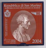 SAN MARINO EUROMUNTEN SPECIALE 2 EURO 2004 - Bartolomeo Borghesi - San Marino