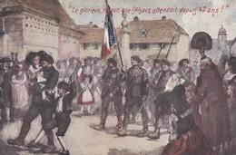 LE GLORIEUX RETOUR QUE L'ALSACE ATTENDAIT DEPUIS 47 ANS    ACHAT MMEDIAT - War 1914-18