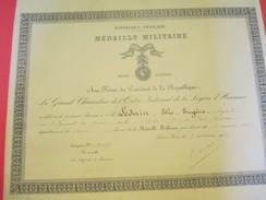 Diplôme/RF/Médaille Militaire/Ordre National De La Légion D'Honneur/LEDAIN/Sergent/Pont Audemer/Eure/1937 DIP194 - Diplomi E Pagelle