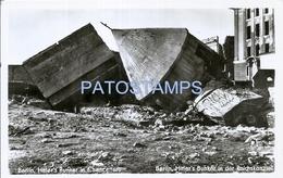 66433 GERMANY BERLIN HITLER'S BUNKER IN CHANCELLERY POSTAL POSTCARD - Non Classés