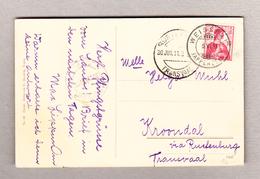 Schweiz 5.6.1911 Weissbad Appenzell AK Bild Säntis  Nach Kroondal Transvaal Transit-O Rustenburg - Suisse