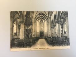 17D - Jemeppe Sur Meuse Intérieur Eglise - Liege