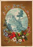 3 Chromos Chocolat - Aiguebelle - Souvenir Monastere Trappe - Bill-351- R/V - Aiguebelle