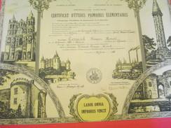 Diplôme/Certificat D'Etudes Primaires Elémentaires/Académie De Poitiers/Charente/TESSAUD/Suaux/1940         DIP197 - Diplomi E Pagelle