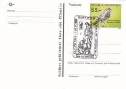 Austria Postal Stationary Pottendorf 1993 Feuerwehr (T7A19)