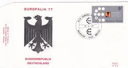 Belgium FDC 1977 Europalia 77 (T7A19) - FDC