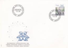 Switzerland FDC 1986 Dauermarke (T7A19)