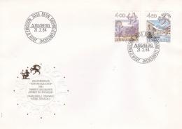 Switzerland FDC 1983 Dauermarken 4 And 4.50Sfr (T7A19)