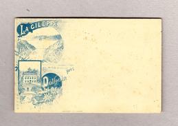 Belgien Ganzsache Karte 5c Ungebraucht Rückseite Illustriert La Gileppe Restaurant Legras - Litho Aug. Nicollet Verviers - Ganzsachen
