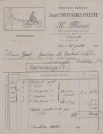 19 425 TULLE CORREZE 1920 Jouet L INFATIGUABLE CYCLISTE Des Ets H. MINET Rue Manufacture A GAREL - France