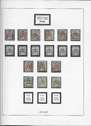 1871/1927 NACHPORTOMARKEN → Schw. Wappen Mit Alpenrosen   ►mit Kontrollnummer◄ - Portomarken