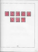 1938 NACHPORTOMARKEN → Ziffer Und Kreuz - Portomarken