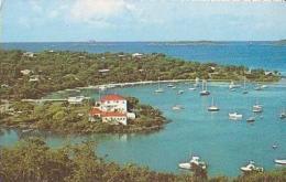 USA        163        CRUZ.Virgin Islands National Park.Cruz Bay Harbor - Vierges (Iles), Amér.
