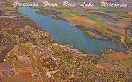 USA        166        Greetings From Rice Lake - Etats-Unis