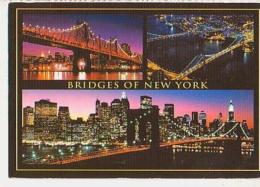 USA        H174       Bridges Of NEW YORK ( 3 Views ) - Ponts & Tunnels