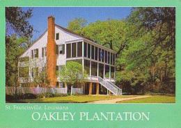 USA        H190        St Francisville.OAKLEY PLANTATION - Etats-Unis