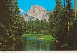 USA        H193        Yosemite.Half Dome And Merced River - Yosemite