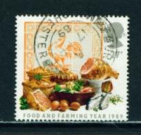 GREAT BRITAIN  -  1989  Food And Farming Year  27p  Used As Scan - Gebruikt