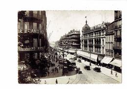 13 - MARSEILLE - La Canebière - Cap 26 - 1939 - Grand Hôtel Montres LONGINES Tramway Bijoux FIX - The Canebière, City Centre