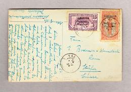 Cameroun 14.11.1924 Yabassi Ansichtskarte Nach Stäfa - Kamerun (1915-1959)