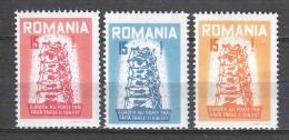 Romania 1956 MNH EUROPA