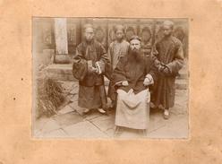 (16)  Photo  Chinese  14cm X 11 Cm  (bon Etat)