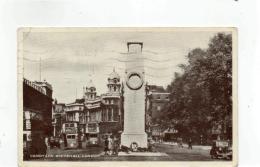 Postcard - Cenotaph Whitehall London - Posted 7th Jan 1955  Good - Postcards