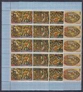 K31 5x Guinea - MNH - Art - Painting