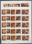 K31 5x Ajman - MNH - Art - Painting - Imperf
