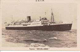 2617 Bateau Paquebot  Sidi-Bel-Abbes S.G.T.M. - Commerce