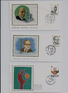 Belgie - Belgique  FDC OP ZIJDE  Volledige Jaargang 1987 Zonder Nummers 2261 + 2264 - 1981-90