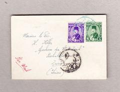 Ägypten 4m Ganzsachen-Brief Mit 10m Zusatz Luftpost Nach Zürich - Égypte