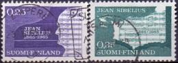 Finland 1965 Jean Sibelius GB-USED