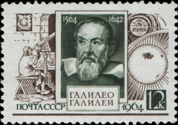 USSR. 1964. 3059 (3029) 400 Anniversary Of Galileo GALILEO