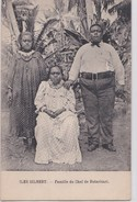 Carte 1915 ILES GILBERT / FAMILLE DU CHEF DE BUTARITARI - Micronésie