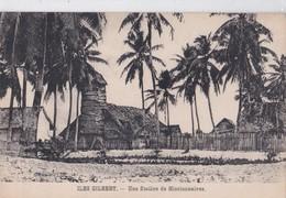 Carte 1915 ILES GILBERT / UNE STATION DE MISSIONNAIRES - Micronesia