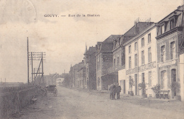 GOUVY : Rue De La Station