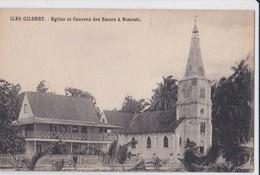 Carte 1915 ILES GILBERT / EGLISE ET COUVENT DES SOEURS A NONOUTI - Micronesië