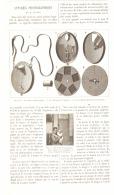 APPAREIL PHOTOGRAPHIQUE DE M.FETTER  1896 - Cámaras Fotográficas