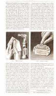APPAREILS MOUILLEURS  POUR ENVELOPPES ET TIMBRES  1891 - Timbres