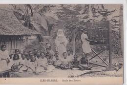 Carte 1915 ILES GILBERT / ECOLE DES SOEURS - Micronesië