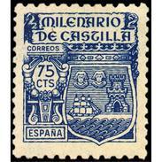 ES982STV-LTV***982STESE.Spain.Espagne .Escudo MILENARIO DE CASTILLA.1943.(Ed 982**) - Sellos