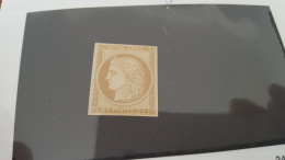 LOT 343345 TIMBRE DE FRANCE NEUF** N°1 J VALEUR 1100 EUROS