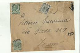 136663  Storia Postale Antica Busta - 1900-44 Vittorio Emanuele III