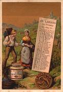 1 Chromos Liebig - S189 - Calandrier Octobre 1887 - Bill-354 - R/V - Liebig
