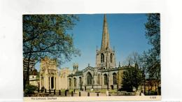 Postcard - Tha Cathedral Sheffield Undated Very Good - Unclassified
