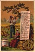 1 Chromos Liebig - S189 - Calandrier Aout 1887 - Bill-356 - R/V - Liebig