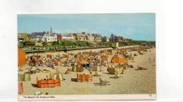 Postcard - The Beach - St. - Annes - On - Sea , Lancs Very Good - Unclassified